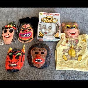 Other - Vintage Halloween Costumes/ Masks
